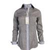 chemise fantaisie, losange, original, coton, élégant, chic